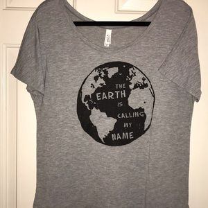 🌹Bella The Earth is Calling my Name Graphic Tee
